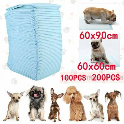 New 100 200 Large Puppy Training Pads Toilet Pee Wee Mats Pet Dog Cat