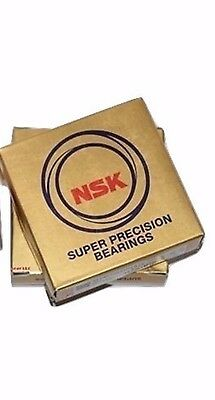 2 NSK 7207CTRDUL P4Y Abec-7 Precision Angular Contact Bearing Matched Set of Two