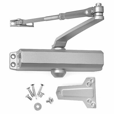 Door Closer Grade 2 Medium Duty, Surface Mounted, Cast Aluminum, By Lawrence