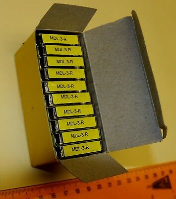 Buss MDL-3-R fuses, qty 50 for 1 price - Cooper Bussman - NEW