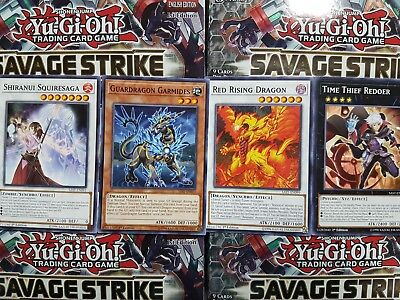 Yu-Gi-Oh Savage Strike Common - YOU PICK FROM LIST!