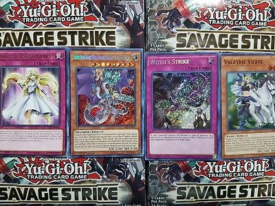 Yu-Gi-Oh Savage Strike Rare, Super, Secret & Ultra - YOU PICK