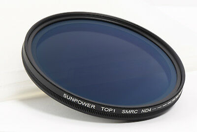 Sunpower Smrc ND Fader 72mm Variable Filtre ND ND4-400 Multicouches - Demo