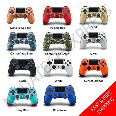 SONY PS4 Dualshock 4 Wireless Controller - OFFICIAL V2 - FREE USB CABLE,MANUAL