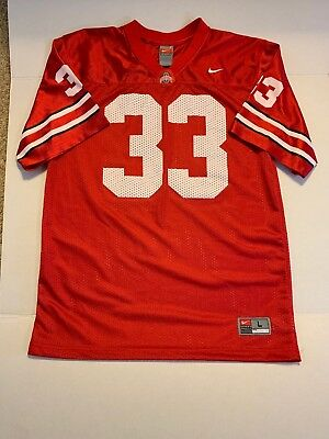 ... ncaa football jersey white a65b6 72cea  inexpensive nike ohio state  university buckeyes 33 dante booker red jersey youth large 78ead e112b d2833608c