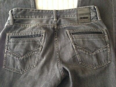 2581bec5f1 JEANS UOMO GUESS Taglia 29 - Grigio Stone Washed - EUR 20,00 ...