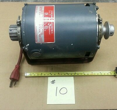 General Electric belted blower motor  1/2 HP 1725 RPM