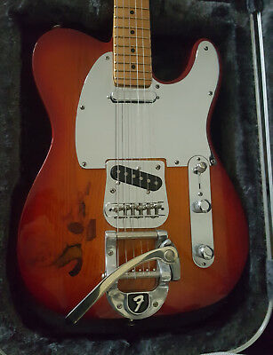 Fender Telecaster Bigsby Custom Electric Guitar Cherry Roadrunner HSC NOCASTER