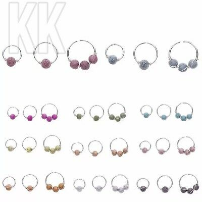 37s BOHO NOSE RING TURQUOISE NOSTRIL HOOP NOSE EARRING PIERCING JEWELRY GIFT FAD