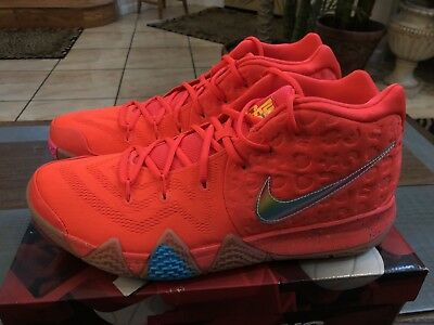 5edf4136810 Nike Kyrie 4 Lucky Charms PE Cereal Pack BV0428-600 size 13.5 14 13 Confetti