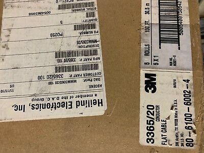 3M 3365/20 100FT 28 AWG Flat Ribbon Cable