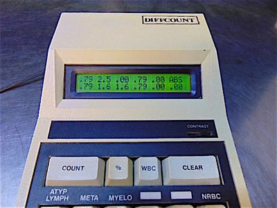 Modulus Data Systems Diffcount 10-312 Electronic Differential Tally12CH Counter
