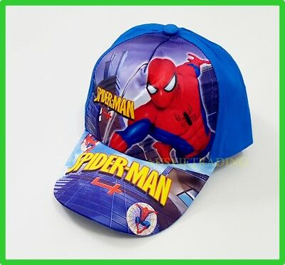 Brandnew Spiderman boys kids children cartoon super hero Cap Hat new cotton