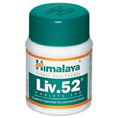 100 Tablet Liv52 From Himalaya Herbal Natural Ayurvedic