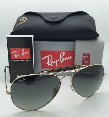 b8ae41a3d3b RAY-BAN Sunglasses OUTDOORSMAN II RB 3029 181 71 Aviator Gold Frame w