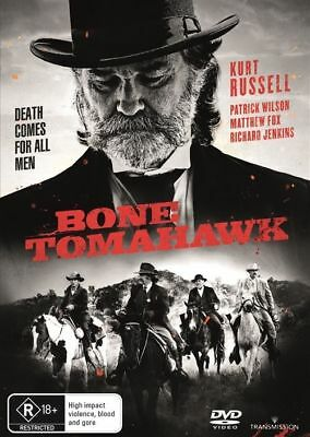 Bone Tomahawk DVD : NEW