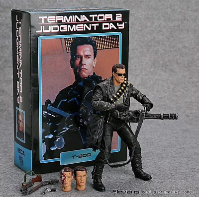 NECA Terminator 2: Judgment Day T-800 Arnold Schwarzenegger PVC Action Figure