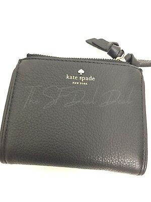 5df64455a49b6 Kate Spade Small Malea Mulberry Street Double Zipper Leather Wallet WLRU3075