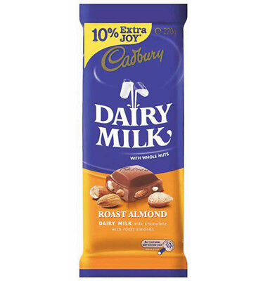 Cadbury Roast Almond 220g x 14