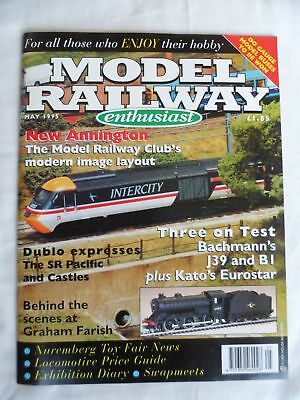 Model Railway enthusiast - May 1995 - New Annington