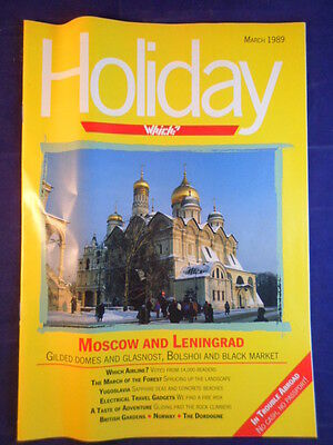 Vintage - Which? Holiday magazine - March 1989