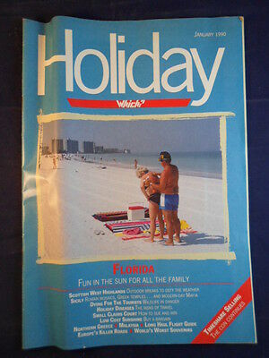 Vintage - Which? Holiday magazine - January 1990
