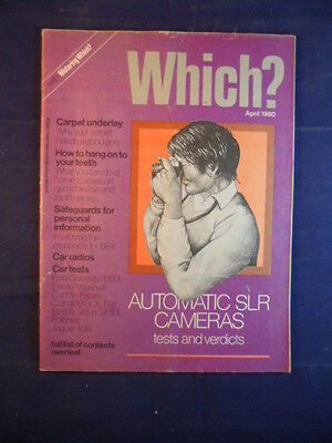 Vintage - Which? magazine - April 1980