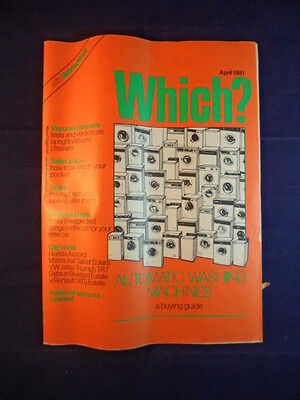 Vintage - Which? magazine - April 1981