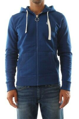 Felpa Uomo Hooded Full Zip W Logo North Sails