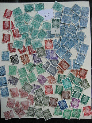 German Ddr 120 Used Stamps  Lot # 317