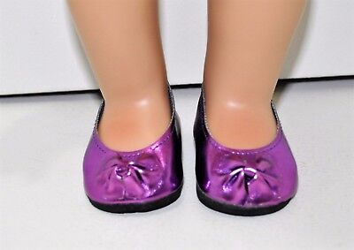 Our Generation American Girl Journey Girl 18 Inch Dolls Clothes Purple Slip On