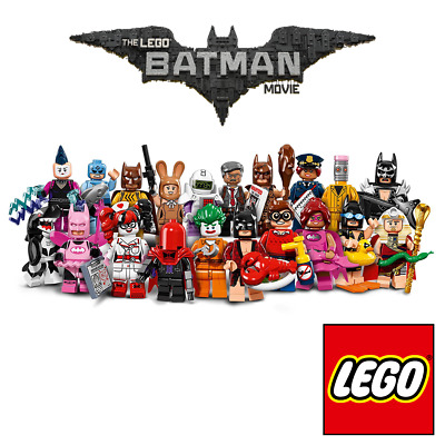 Pick your own Minifigure 🦇 LEGO 71017 Batman Movie Minifigures Series 1