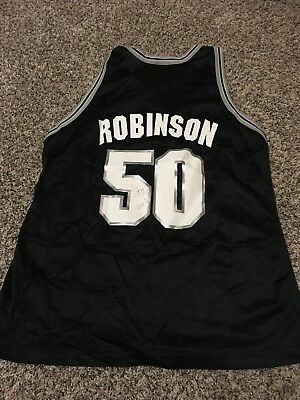 99af2f321 David Robinson Signed Autographed San Antonio Spurs Basketball Jersey NBA