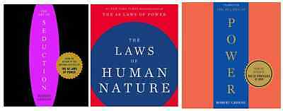 The48 Laws  of Power +The Art of Seduction + the laws of human (3 eb00k pdf)