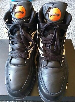 73df05d4014d Men s Reebok Pump Twilight Zone Black White Size 13 Pre-owned with minimal  wear