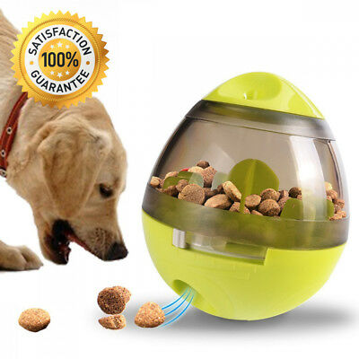 Pet Food Ball, FUN and INTERACTIVE Treat, Dispensing Ball for Dogs & Cats,...