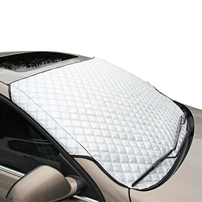 FREESOO Car Windscreen Frost Cover Snow Cover Windshield Ice Cover Sunshade in