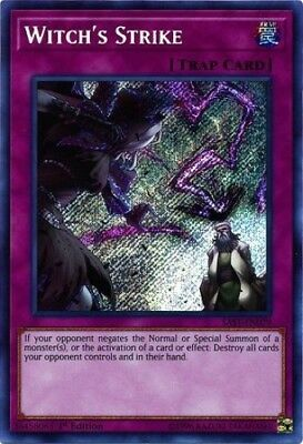 Witch's Strike (SAST-EN079) - Secret Rare - 1st Edition