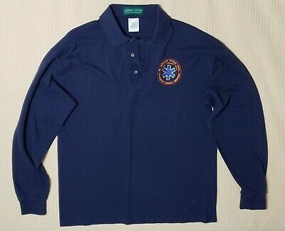 Polo Shirt St Anthony's Medical Center EMERGENCY MEDICAL SERVICES  Large