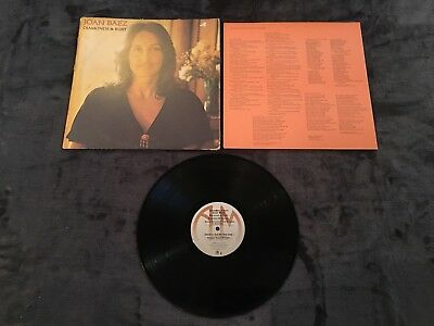 Joan Baez / Diamonds & Rust (1975) -Vinyl LP Album Record- A&M Records - SP-4527