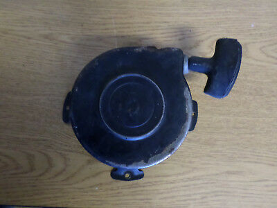Vintage briggs stratton 7-8hp engine rope pull starter recoil USED.