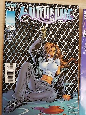 Witchblade Comic Book Two Issues