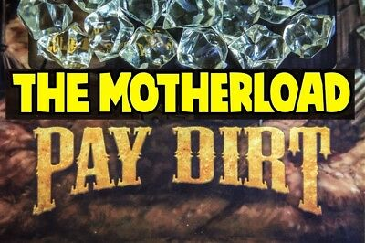"""GOLD PAY DIRT 3 lbs or 1360gr """"THE MOTHERLOAD"""" Nuff said. 🇬🇧 🇬🇧 🇬🇧 🇬🇧"""