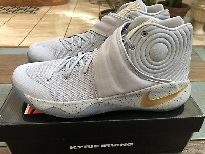 new product b8230 e6a6f NIKE KYRIE 2 Battle Grey Gold 819583-005 size 13 Cereal 4 PE Day Of The  Dead LE