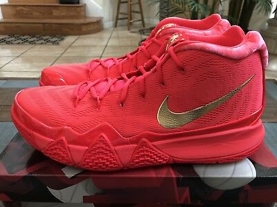 a9ca990f5ed77b Nike Kyrie 4 Red Carpet Metallic Gold 943806-602 size 14 what the cereal  pack