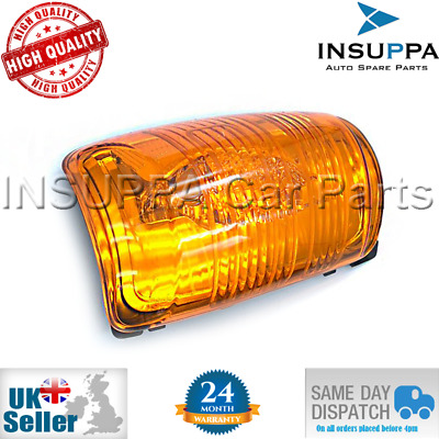 O.e. Quality Mirror Indicator Lamp Lens Left Side Fits Ford Transit Mk8 (Amber)