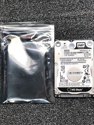 Western Digital WD5000LPLX 500GB 7200RPM SATA 6Gb/s 2.5in Laptop Hard Drive