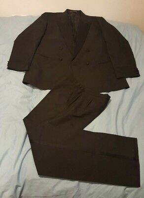 "Mens Dinner / Evening Suit ""The Label"" 46"" Chest Tuxedo"