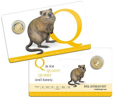 2016 $1 One Dollar Frosted UNC Alphabet Series 'Q' Coin