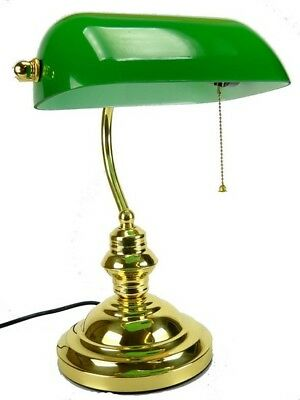 Lamp table office ministry english brass